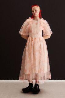 Simone Rocha x H&M - Puff-sleeved Tulle Dress