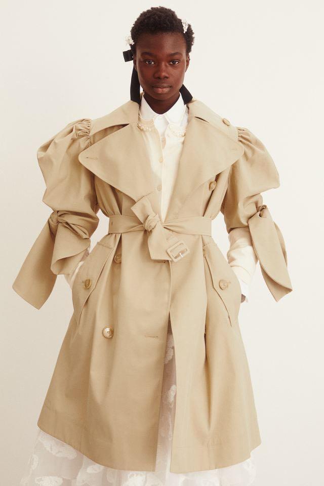 Simone Rocha x H&M - Puff-sleeved Trenchcoat