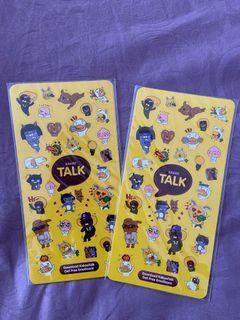 sticker kakao talk / stiker