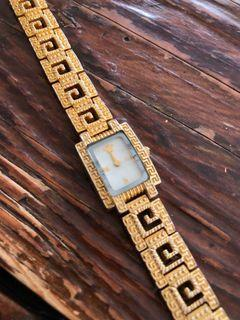 Vintage Gianni Versace gold plated watch