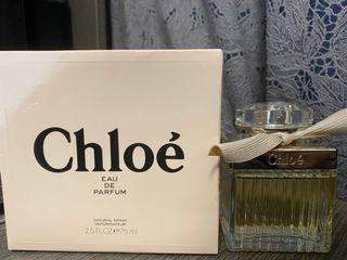 90%New Chloe Perfume 香水 經典味75ml