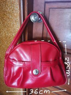 古董側背包(紅)