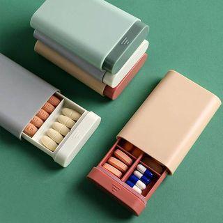便攜式分裝藥盒 綠