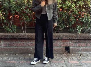 百搭黑色西裝寬褲(僅穿過一次)