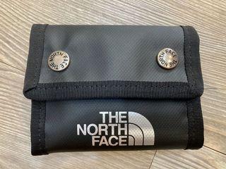 日版 正品The north face  北臉黑色短夾