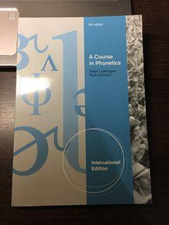 A Course in Phonetics 第六版 (with CD-ROM) (國際版)