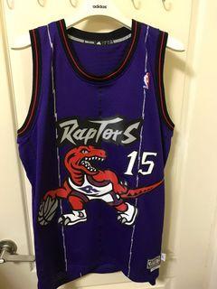 Adidas NBA 多倫多暴龍 Vince Carter 復古大暴龍 電繡 球衣 A46469