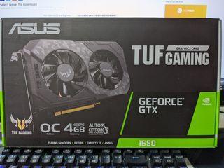 Asus GTX 1650 TUF Gaming OC