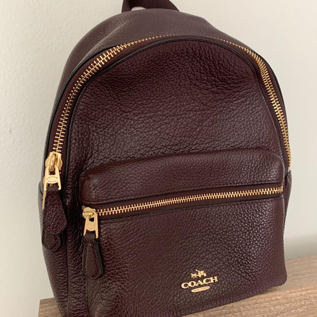 Authentic Coach Mini Charlie Backpack