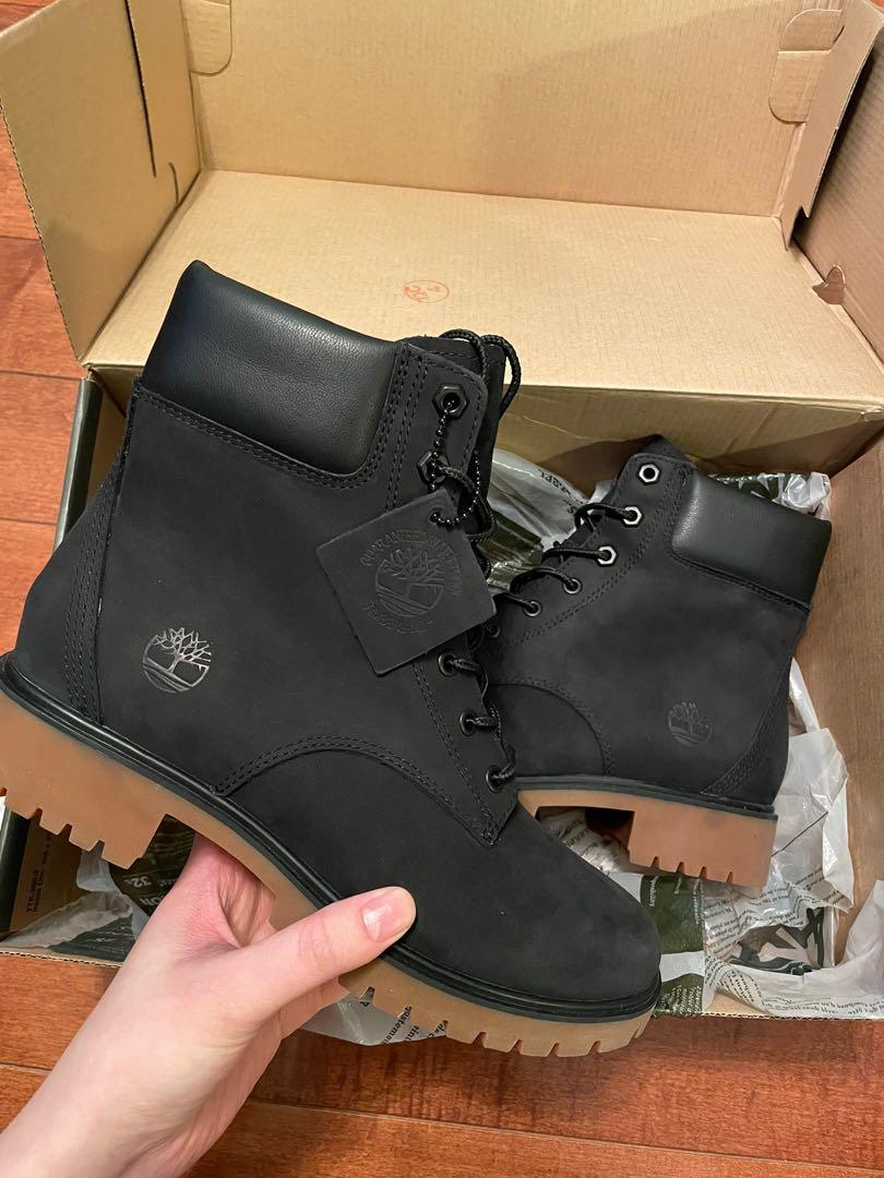 Brand new black Timberlands