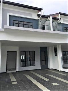 Freehold new and bare unit 2 storey Careya Setia Permai 2 Setia Alam