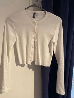 H&M crop cardigan