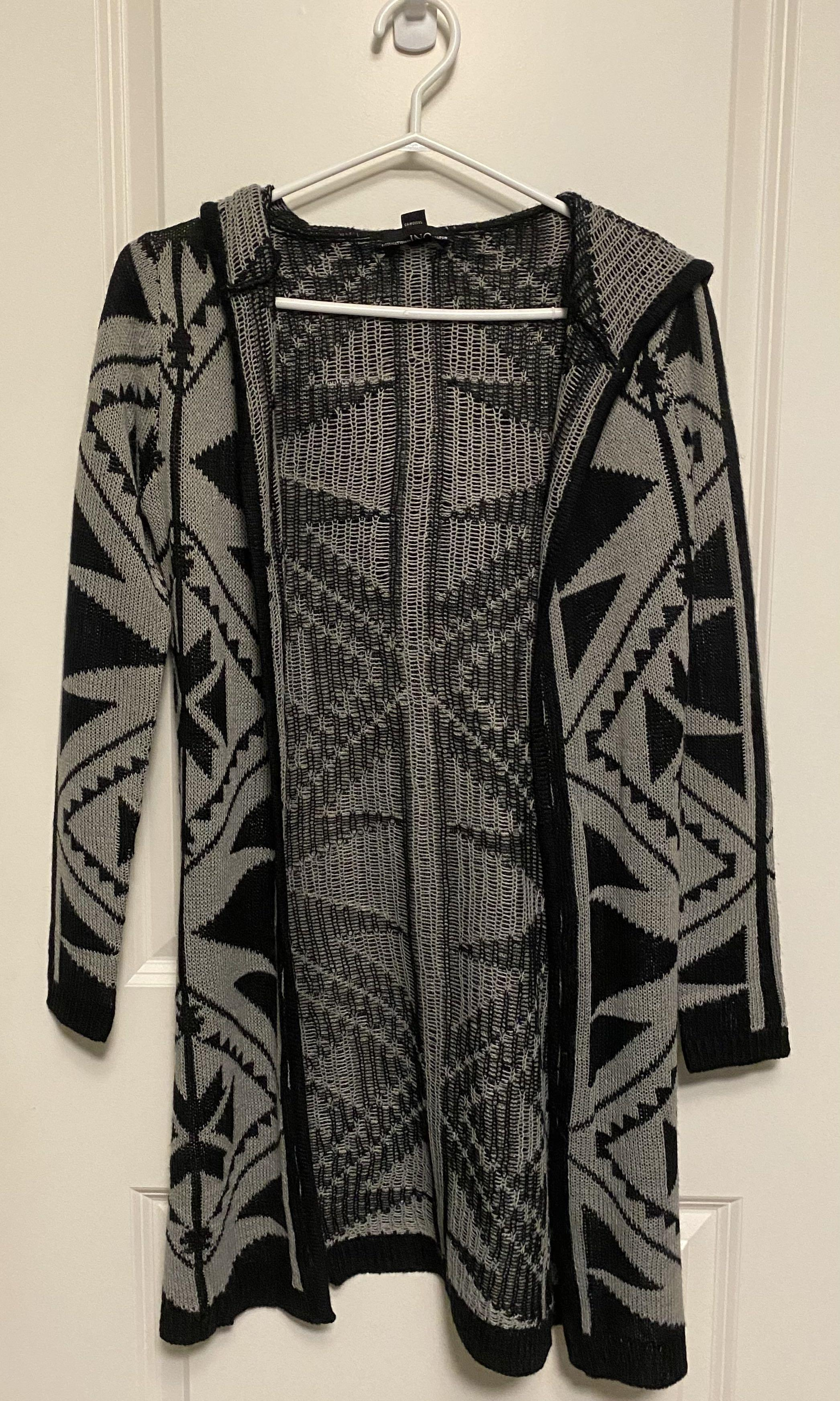 Long Aztec Cardigan