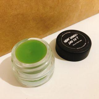 Lush 固態香水 solid perfume / What Would Love Do