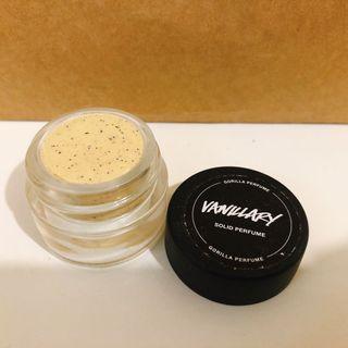 Lush solid perfume 固態香水 vanillary