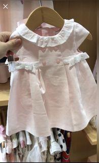 Mayoral pink baby dress