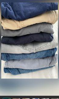Pants for boys Assorted Brand names