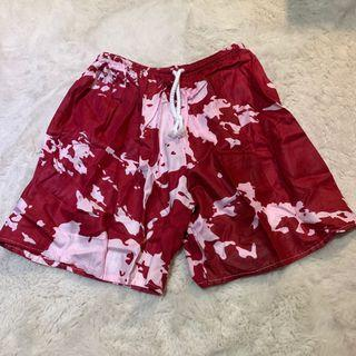 short pants (red)