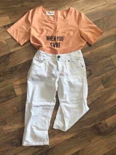 top&pants set