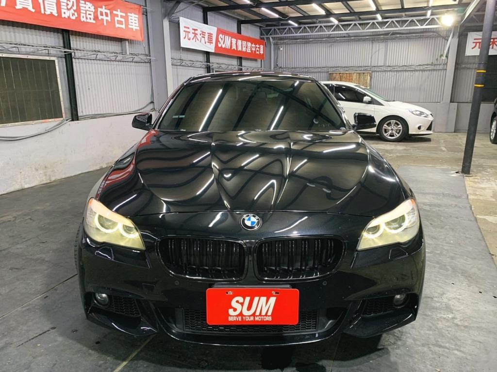 正2012年出廠 BMW  520D超貸 找錢 實車實價 全額貸 一手車 女用車 非自售 里程保證 原版件