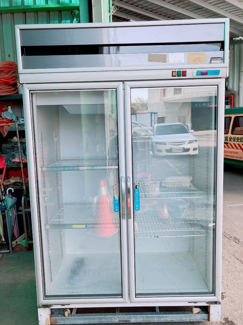 二門冷藏透明冰箱 220V 🏳️🌈萬能中古倉🏳️🌈