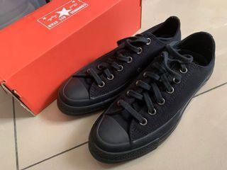 全新正品 Converse All Star '70 1970s 黑色 低筒 帆布鞋 三星標 黑標 全黑 非基本款
