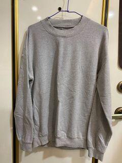 灰色寬鬆上衣 F