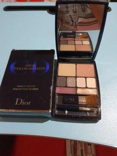 Authentic Christian Dior Make up Voyage Palette