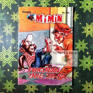 Cergam Mimin Vol.75: Pencurian yang Sia-sia by Yolanda Vargas Dulche dan Sixto Valencia