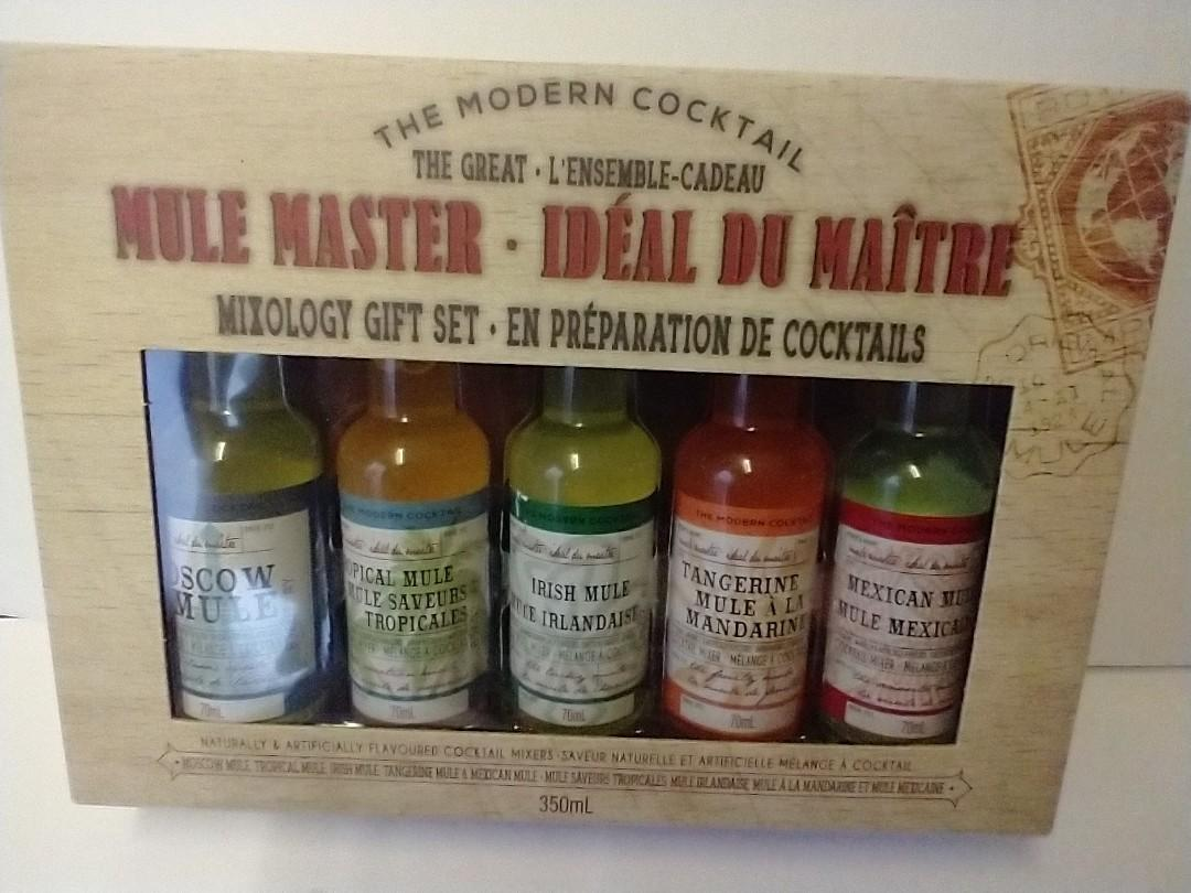 🍹Cocktail Mixer The Modern CocktailThe Great Mule Master Mixology Gift Set