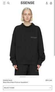 Essentials mock neck sweater