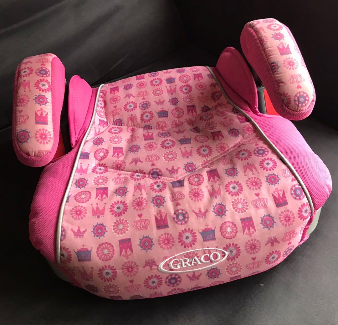 EUC Graco Turbo booster car seat (4-10 years old)