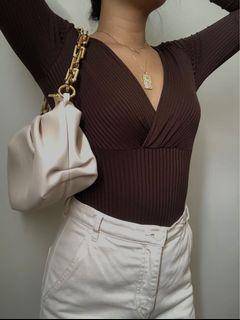 H&M V-neck bodysuit