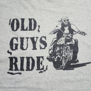 Kaos Vintage Old Guys Ride