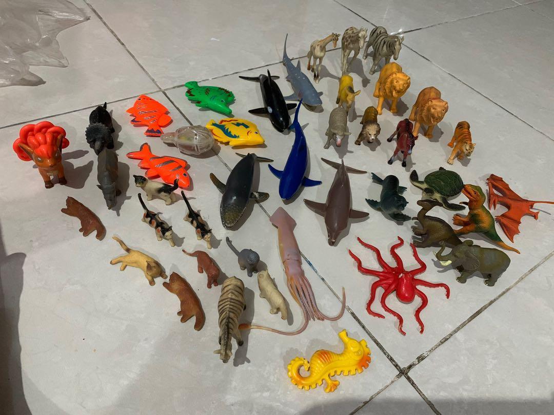 Mainan anak hewan binatang bekas berkualitas
