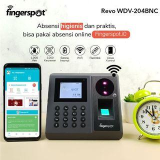 Mesin Absensi Revo WDV-204BNC dari Fingerspot