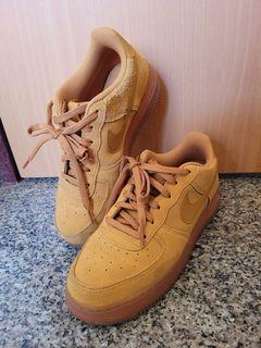 (含運)Nike Air force小麥色