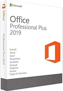Office 2019 pro for Windows and Mac
