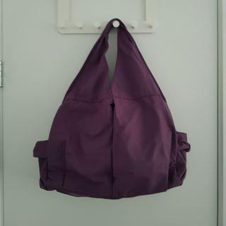Purple Hobo Bag