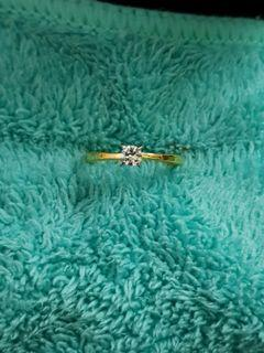 Ring solitaire diamond