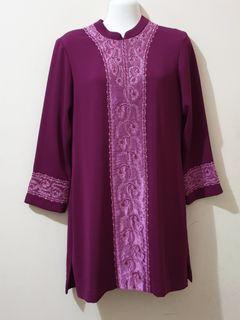 Tunik muslim ungu