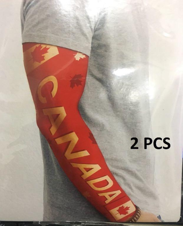 2 Pieces CANADA Tattoo Arm Sleeves