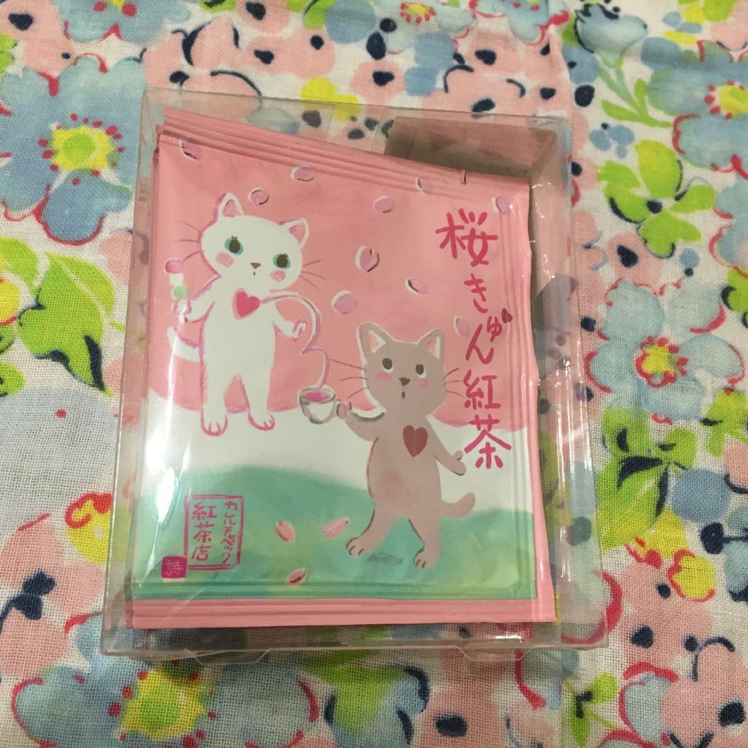 山田詩子櫻花紅茶、蜜桃茉莉紅茶