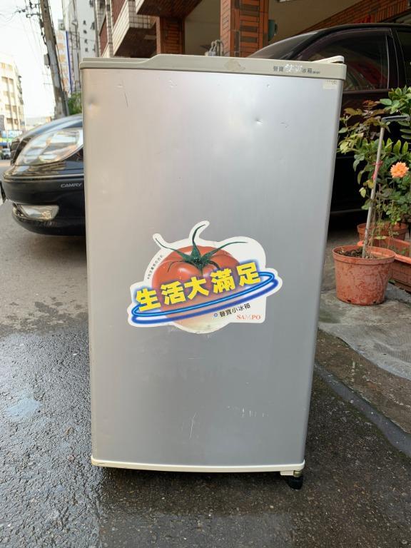 [中古] 聲寶 80L 單門冰箱 小冰箱 冷藏小冰箱 套房冰箱 台中大里二手冰箱 台中大里中古冰箱 修理冰箱 維修冰箱