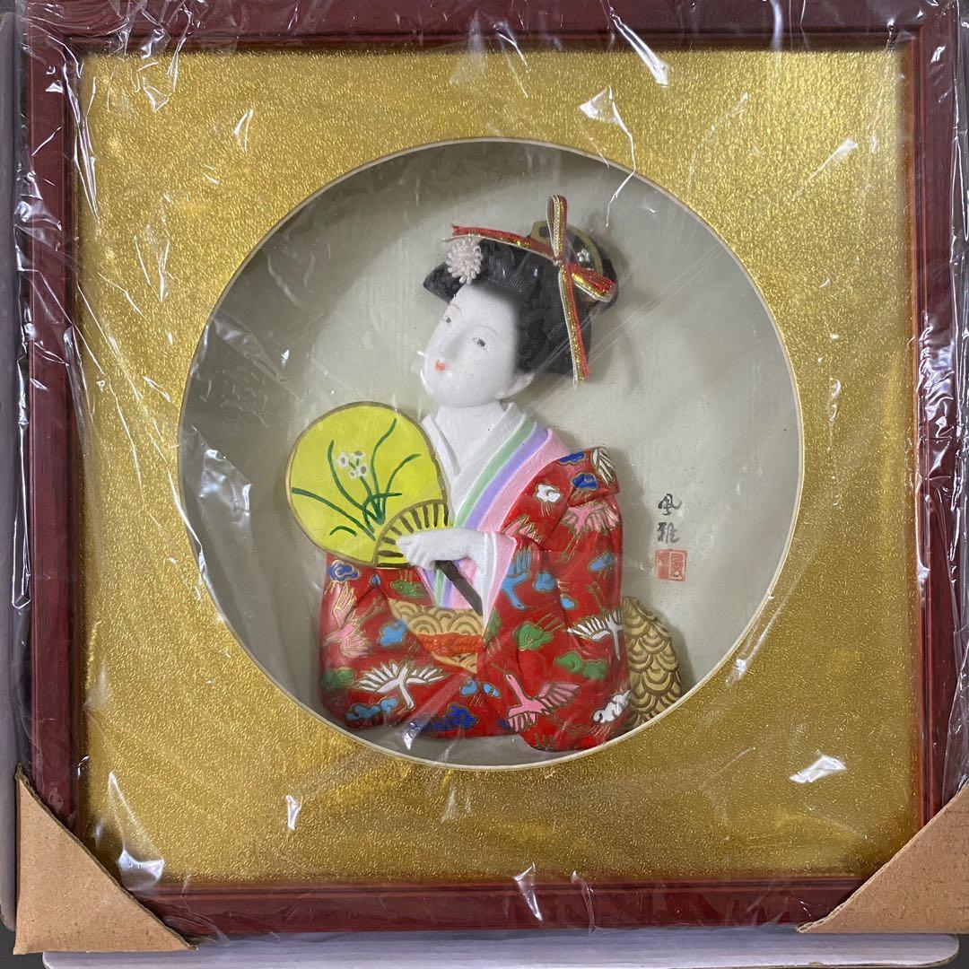 日本精緻藝品 畫框 擺設