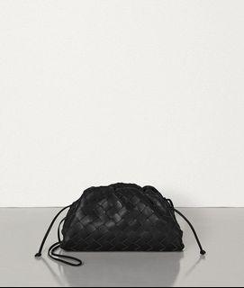 正品 Bottega Veneta 編織雲朵包 小款 黑色