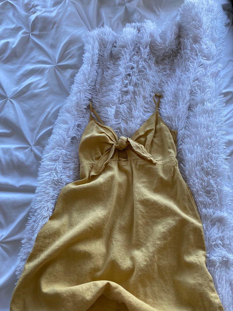 Dynamite Yellow Dress