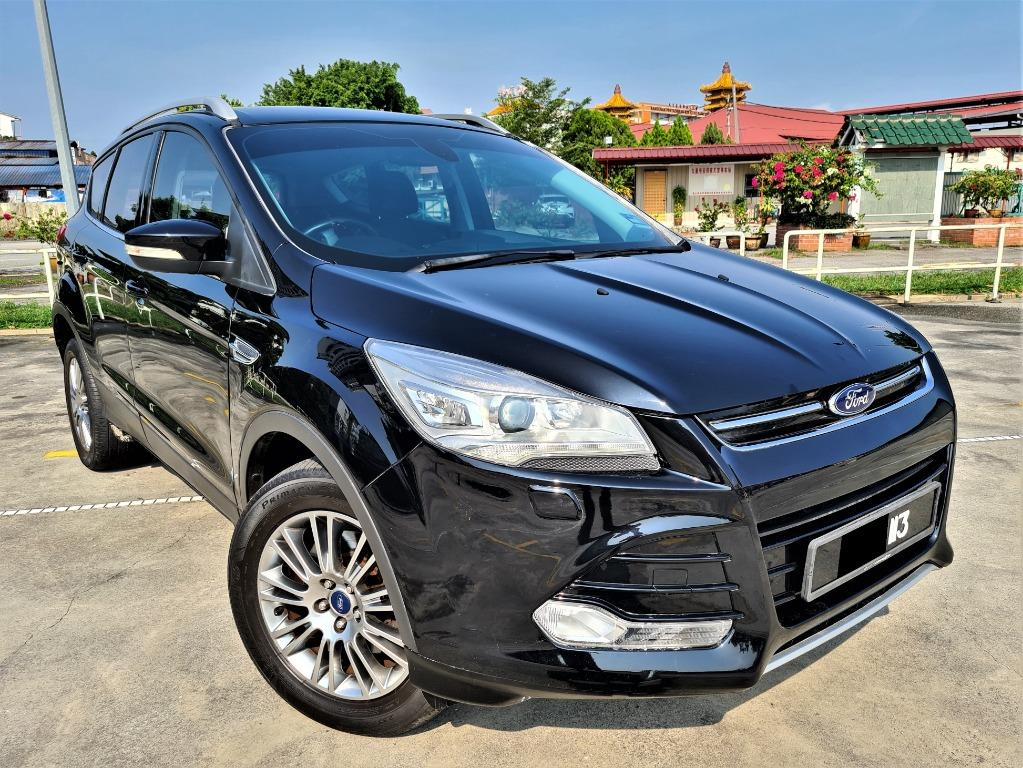 Ford Kuga 1.6 Ecoboost Titanium SUV[1 VIP OWNER][ECO BOOST][POWER BOOT][INCLUDE PLATE 113][LIKE NEW][GOOD CONDITION]