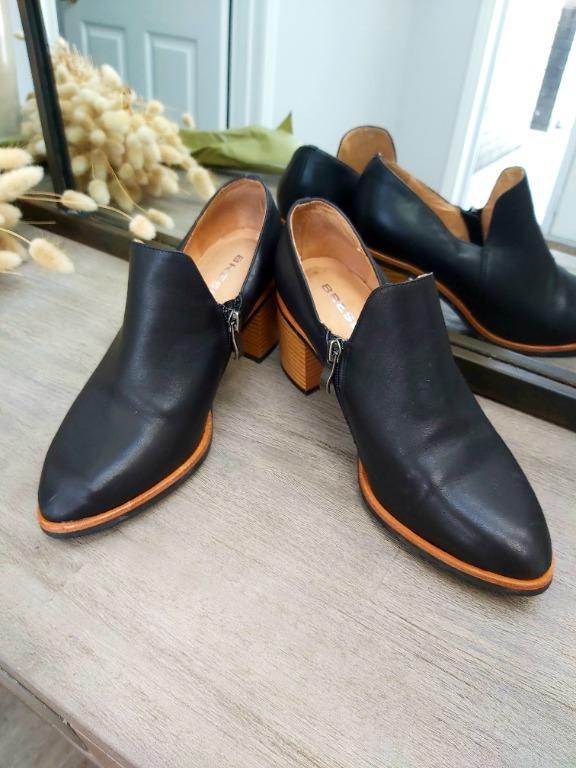 Leather Bresley Heels Size 7