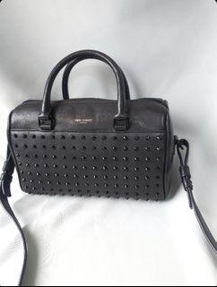 Saint Laurent (YSL) Baby Duffel Bag with studs